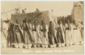 historic taos corn dance image