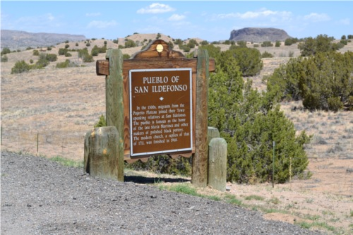 Black Mesa and Historic Marker