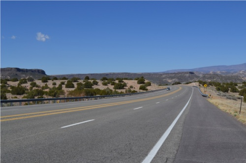 Route 502 to San Ildefonso