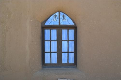 blue church window2
