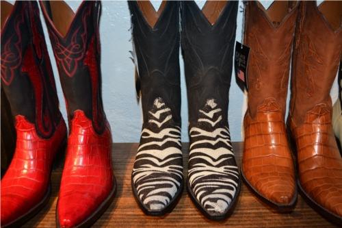 Hand Tooled Custom Cowboy Boots Stingray skin and alligator.
