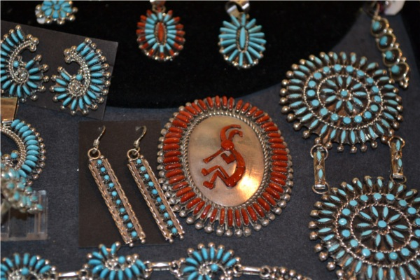 Petit-point Zuni Jewelry