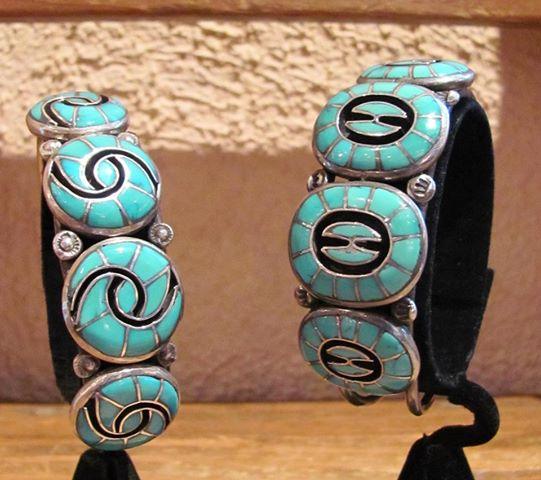 Vintage Cuff Bracelets - Ellen Quandalacey