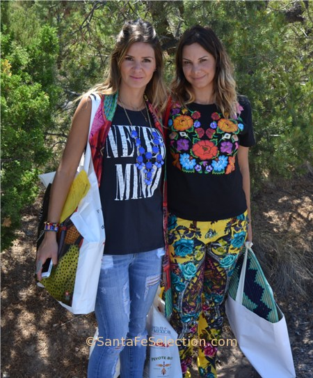 Brazilian visitors on a shopping spree at the International Folk Art Market Santa Fe