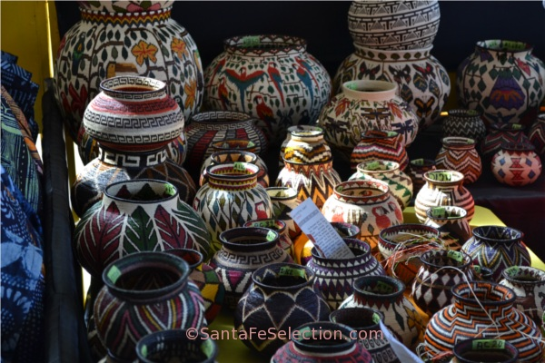 Baskets Folk Art Market Santa Fe