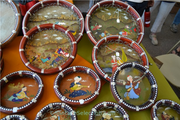 Tambourines - International Folk Art Market Santa Fe