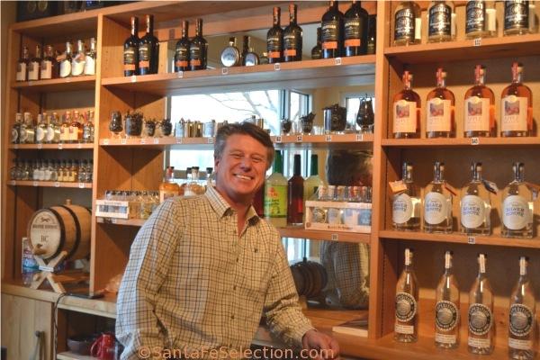 Colin at the Distillery Bar on Mallard Way.