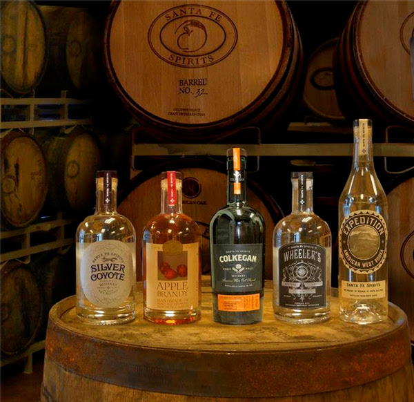 All four award-winners and the new Colkegan Single Malt Whiskey