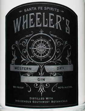 wheelers label gin