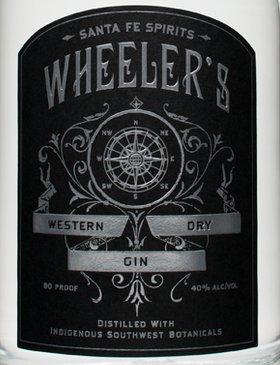wheelers label gin