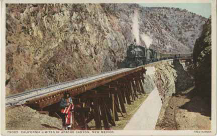 1920 California Ltd in Apache Canyon, N.M. Image: Palace of the Governors Photo Archives.