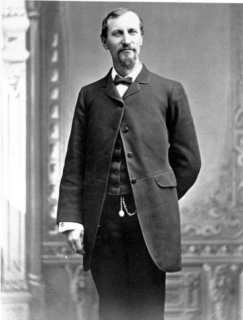 Fred Harvey. Image: Kansas State Historical Society.