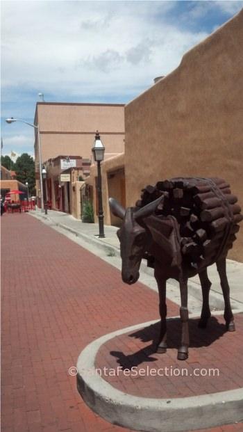 Burro Alley Statue, 2014.