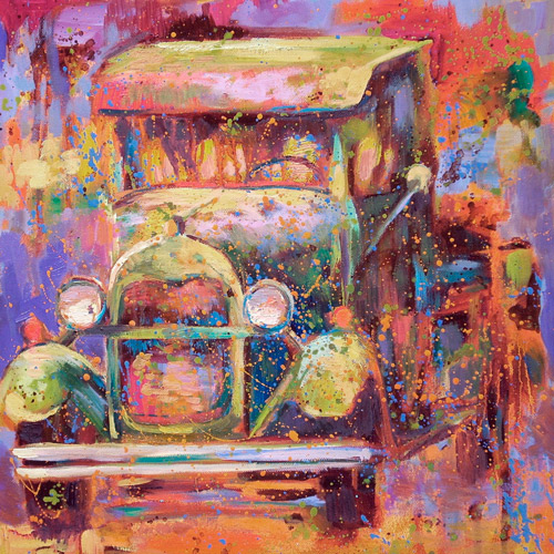 Off Road Vehicle - Barbara Meikle.