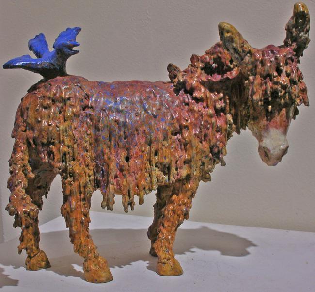 Back Talk - Bronze - Barbara Meikle.