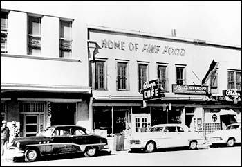 Plaza Cafe, circa1940s. Courtesy of Razatos Family Archives.