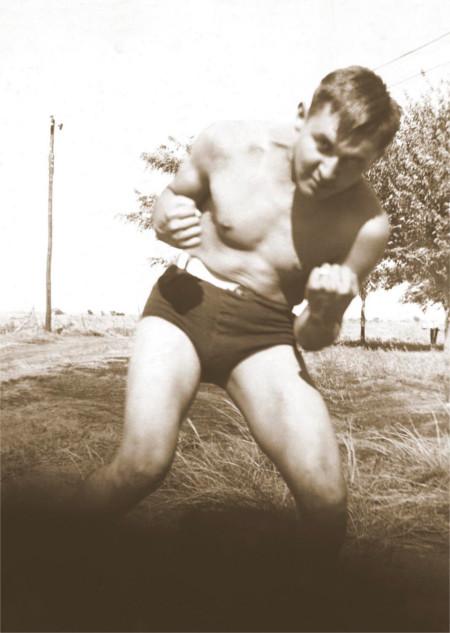 Allan Hauzous circa 1930. Courtesy Houser family archive.
