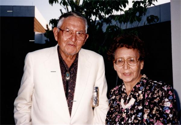 Mr. & Mrs. Houser Haozous.