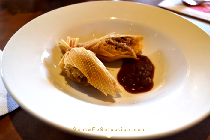 Duck Tamale with Asian Sauce