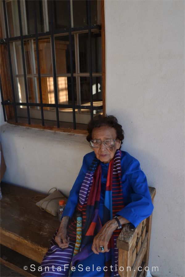 Anna Maria Gallegos Haozous turns 103 in August 2015.