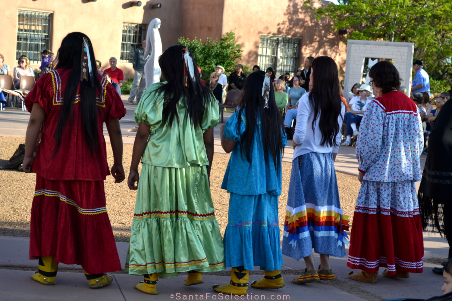 Round Dancers - Fort Sill Apache.