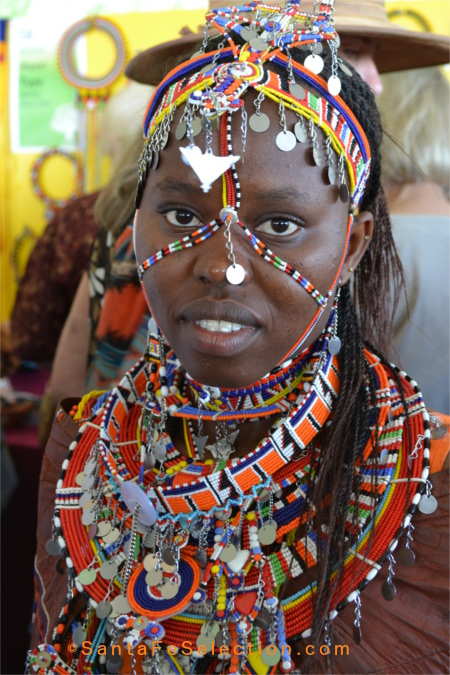 Kenya Maasai Bead Jewelry Beaded Clothing And Accessories