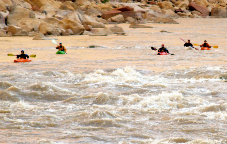Kokopelli Rafting Adventures - Kayak class.
