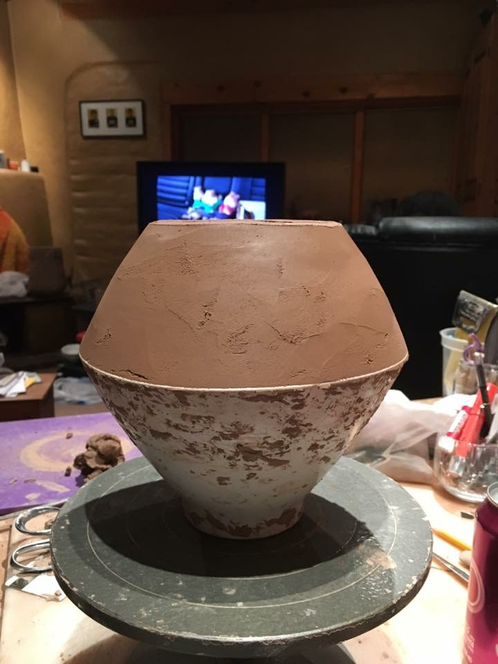 Chris Youngblood Pottery Creation