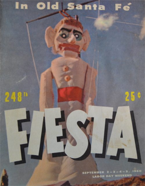 "248th edition of the Fiesta Council's publication ""Fiesta"" from 1960."