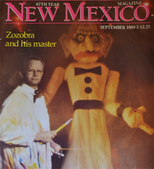 Will Shuster - on the cover of New Mexico Magazine, September 1989 issue.