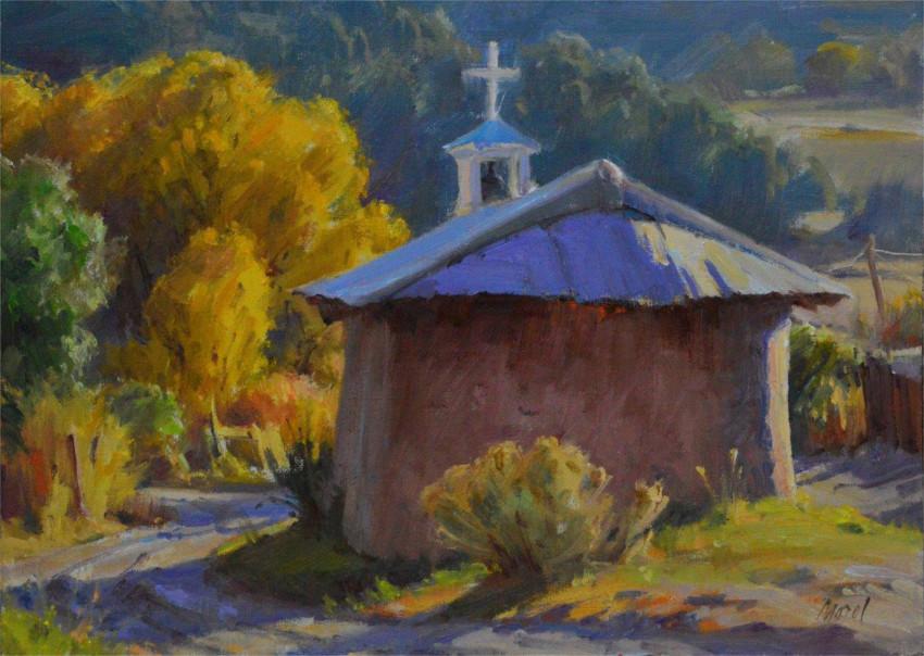 Painting by High Road Artist: J. Chris Morel.
