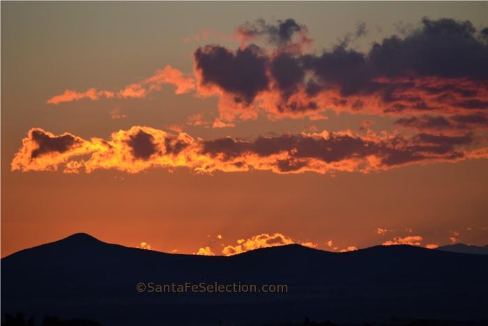 Tetilla Peak Winter Sunset