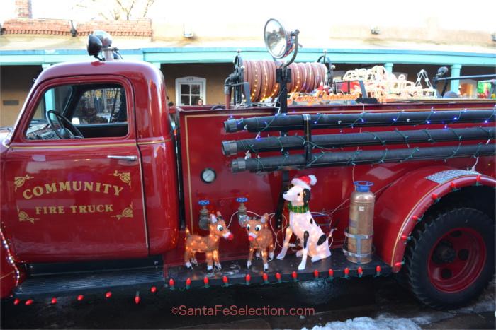 Santa's Fire Truck