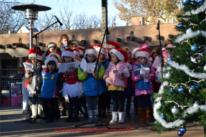 Christmas Carols on the Plaza Bandstand