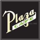 the plaza restaurant logo