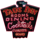 the taos inn logo