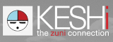 keshi the zuni connection logo