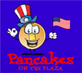 pancakes on the plaza logo