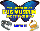 harrell house bug museum logo