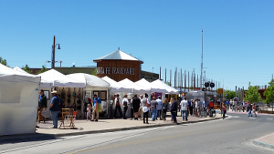 santa fe artists market pic1
