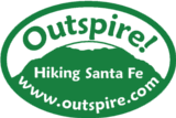 outspire hiking snowshoeing logo